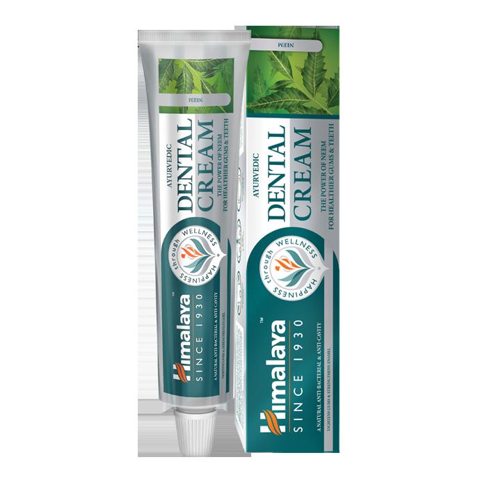 ajurvédikus fogkrém neem növénnyel